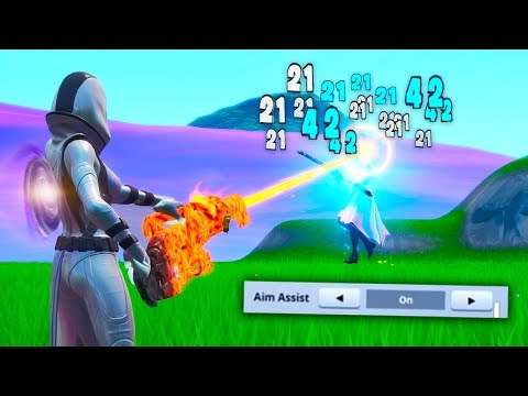 How To Get *Aim Assist* On PC! (fortnite Glitches)