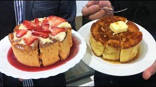 陶器のギャラリー「しがらきや」最強のホットケーキと最強のいちごを試食!