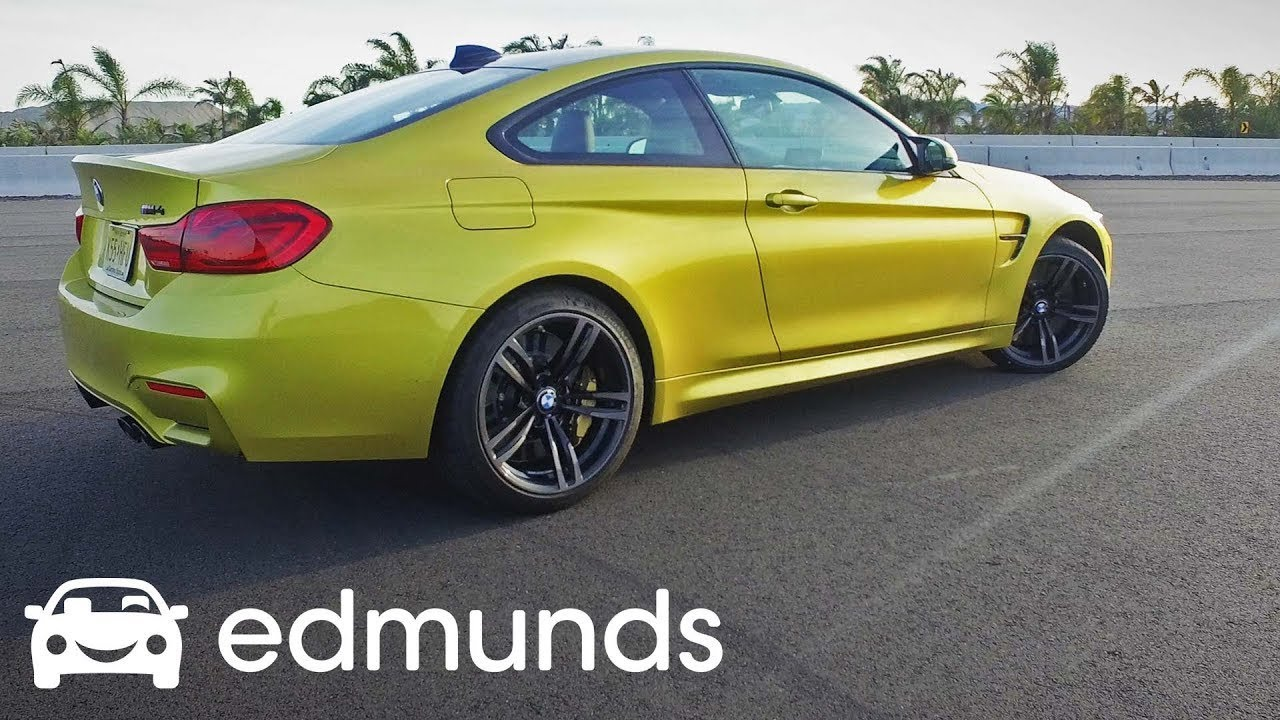 2018 Bmw M4 Compeion Package Review Acceleration Test Edmunds