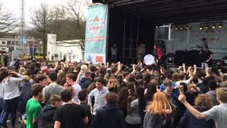 Freaquency, MC Pyro & Sakso (video 2) Stressfeactor Live @ Atheneum Gentbrugge