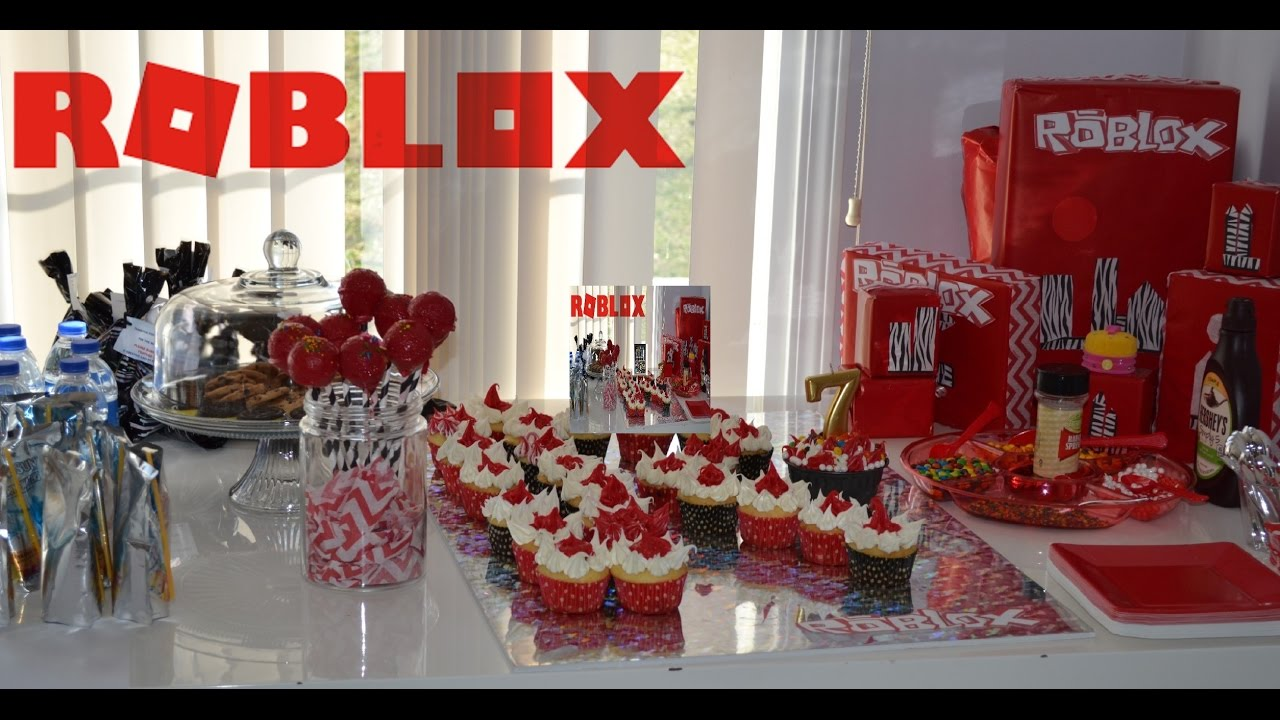 Birthday Party Roblox Goodie Bag Roblox Party Treat Bag