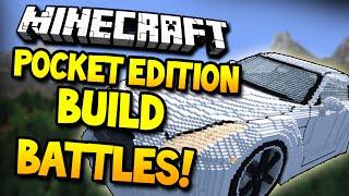 BUILD BATTLES! - Build Wars MiniGame! (Minecraft Pocket Edition)