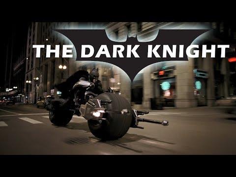 The Dark Knight - Motorcycle Full Scene [HD]. Batman's Motorcycle. Batpod