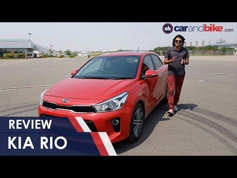 Kia Rio Hatchback Driven In India Ndtv Carandbike Youtube
