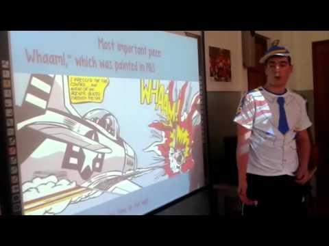 Roy Lichtenstein and pop art Social Science 4º ESO Escolapios Tafalla