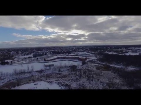 Barrington Prairie Campus Middle School via drone