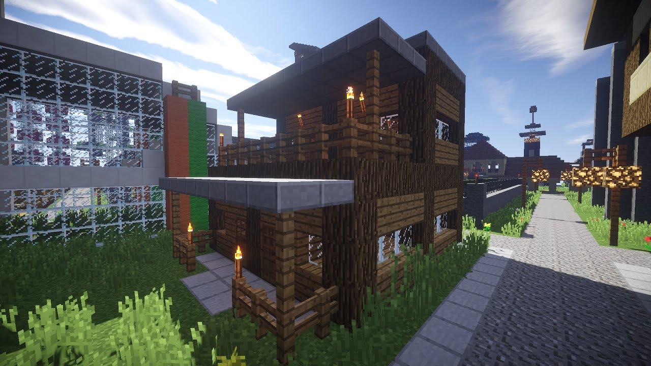 Minecraft Spielen Deutsch Minecraft Haus Schnell Bauen Bild - Minecraft hauser schnell bauen
