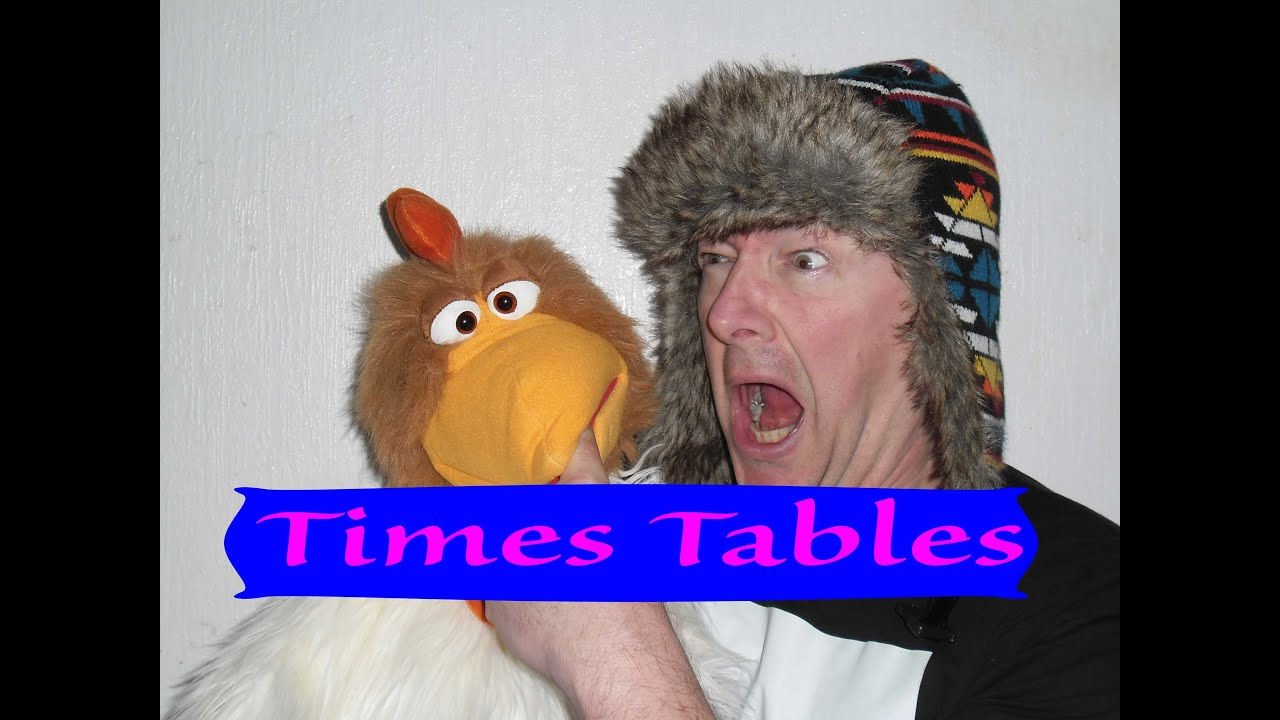 6 x table times tables songs 1 12 for kids youtube for 12 x table song