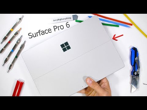 Surface Pro 6 Durability Test! - Is it stronger than the iPad Pro?!