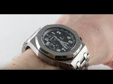 Pre-Owned Audemars Piguet Royal Oak Offshore Chronograph 26170ST.OO.1000ST.08 Luxury Watch Review