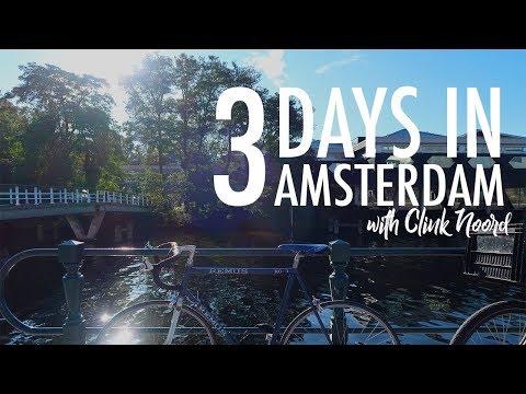 TRAVEL VLOG | Amsterdam NOORD with Clink Hostels