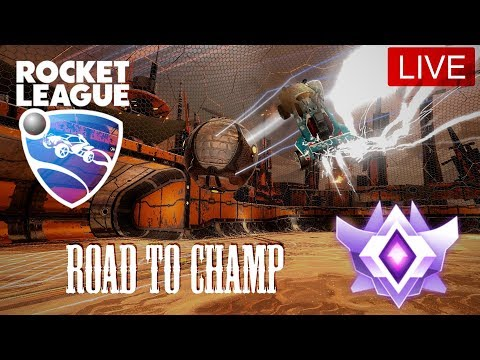 Ranked | ROCKET LEAGUE | Road to Champ | SPONSOR GOAL 1/2
