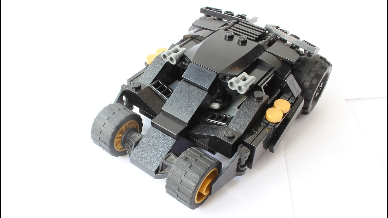 lego batmobile tumbler instructions youtube. Black Bedroom Furniture Sets. Home Design Ideas