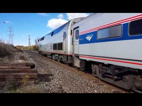 Amtrak at the troy transit center.