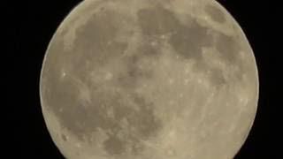 FDR-AX53 vs MOON & Night Vision 250x Zoom Test Tripod