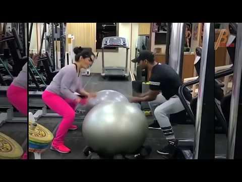 Sanjay Dutt's Wife Manyata Dutt Hot Workout Video 2018 thumbnail