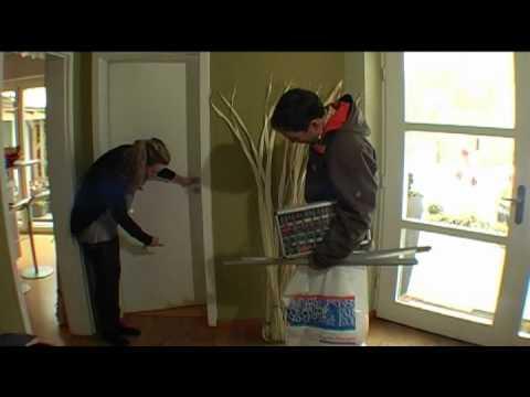 einbau eines anschlagkastens an einem serofi schiebet r doovi. Black Bedroom Furniture Sets. Home Design Ideas