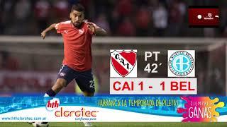 #MuyCAIRadio - Relato gol Emanuel Brítez vs. Belgrano