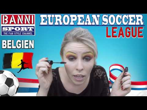 "EURO Fussball 2016 BELGIEN ""Belgium"" - Best European Football ""Soccer"" Fan Style"