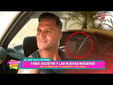 Fabio Agostini y las nuevas imágenes de la visita de Angie Arizaga a su departamento - Válgame Dios