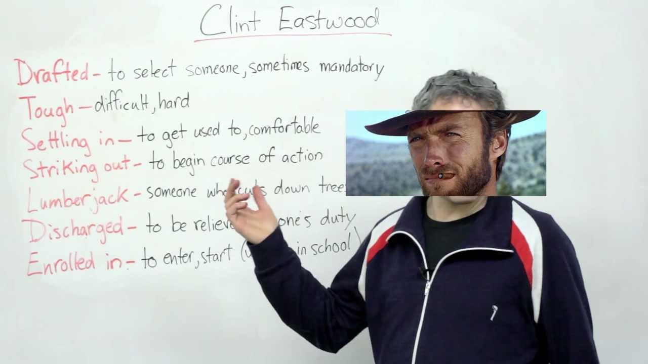 Listening Comprehension - Biography of Clint Eastwood