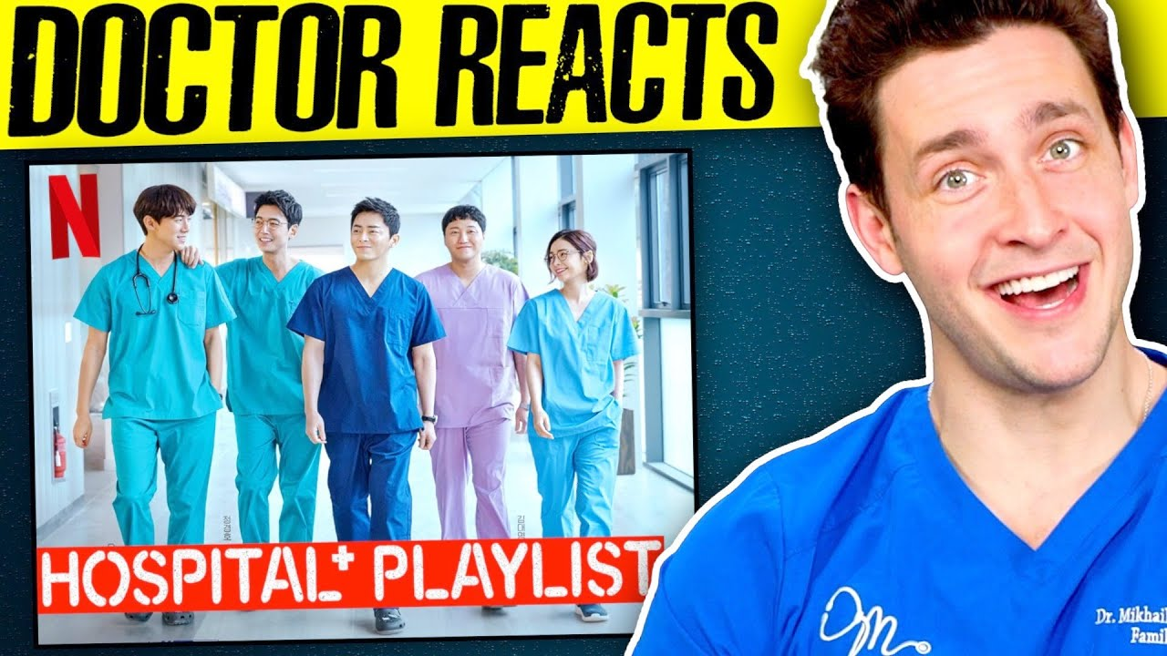 Doctor Reacts To Hospital Playlist | Medical K-Drama Review