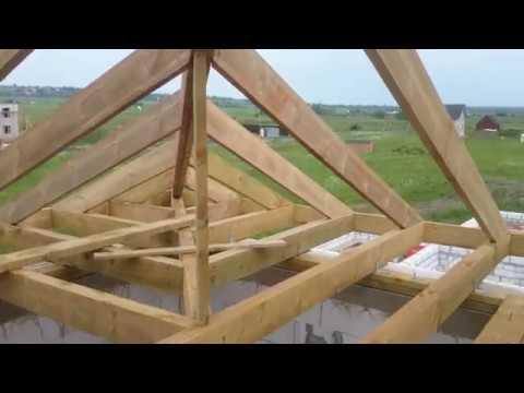таком монтаж стропильной системы вальмовой крыши видео порошком стирать