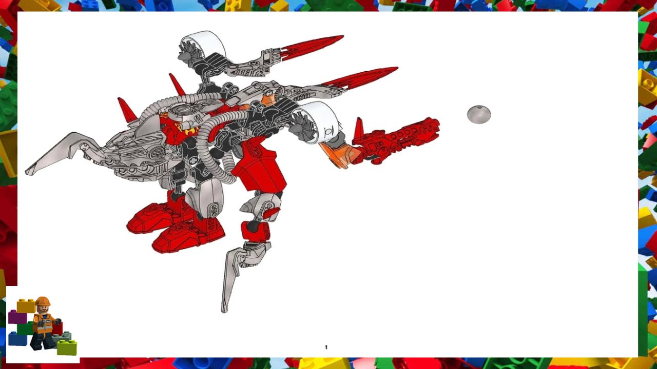 Lego Instructions Hero Factory 6216 Jawblade 6293 Furno Youtube