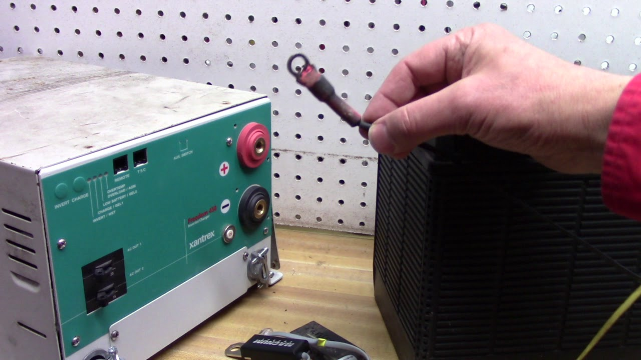 Xantrex Temp Sensor Warning - PCS Electronics