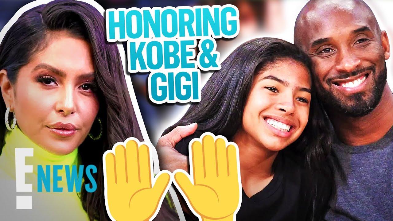 Vanessa Bryant & Daughters Honor Kobe & Gigi Bryant at All-Star Game News
