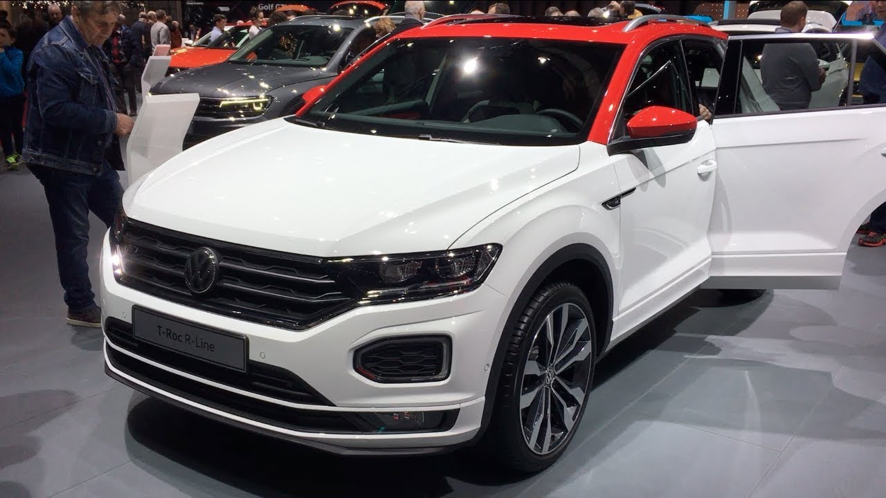 volkswagen t roc r line 2018 in detail review walk around interior and exterior youtube. Black Bedroom Furniture Sets. Home Design Ideas
