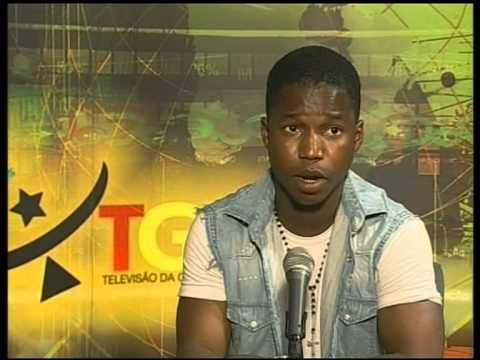 MC MARIO MAXPOSS ENTREVISTA TGB TELEVISAO DA GUINE BISSAU