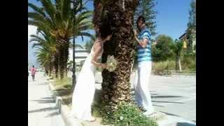 свадьба в Греции( прогулка)