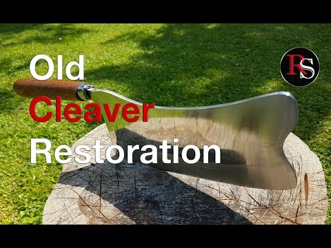 DIY - Old Cleaver Restoration