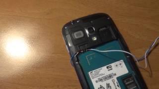 Как включить смартфон без батареи(Видео о том, как включить телефон без батареи, или с неисправной батареей от источника питания., 2016-02-22T20:15:18.000Z)