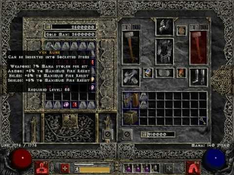 Diablo 2 Rune Recipes 1 13 | Besto Blog