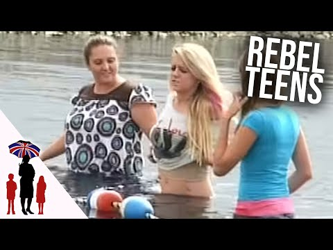 Dad Forces 16yr Olds Into A Pond | World's Strictest Parents