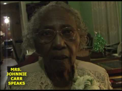 Mrs. Johnnie Carr Speaks #1