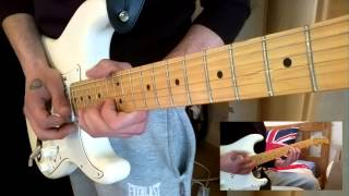 Pink Floyd Another Brick In The Wall Guitar Cover BY Guilty HD