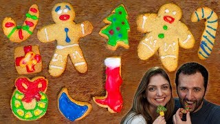 como fazer biscoitos bolachas? de natal do shrek