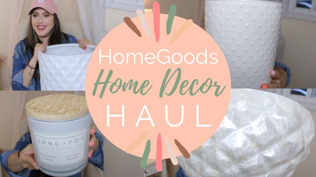 Grand Re-Opening of Homegoods! Homegoods Haul 2020- Major CLEARANCE FINDS! Boho Home Decor Finds!