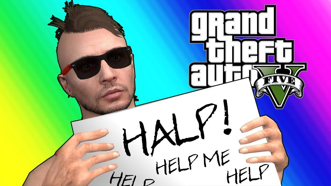 Momentos divertidos en línea de GTA5: ¡Mark Wahlberg secuestró a Moo! + vídeo