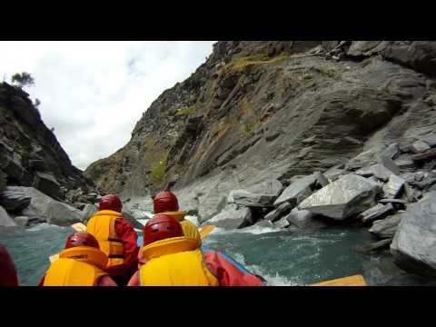 GoPro HD - White Water Rafting @ Shotover River