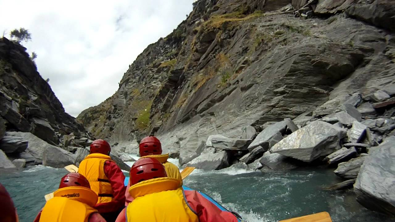 gopro hd white water rafting shotover river youtube. Black Bedroom Furniture Sets. Home Design Ideas