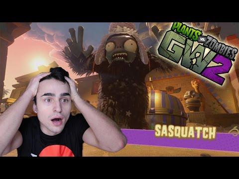SASQUATCH,nuova modalità! | Plants vs Zombies: GW 2 | Gameplay PS4 ITA