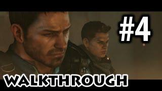 Resident Evil 6 - Chris Walkthrough Part 4 - Ace of Spades [Commentary] [HD PC]