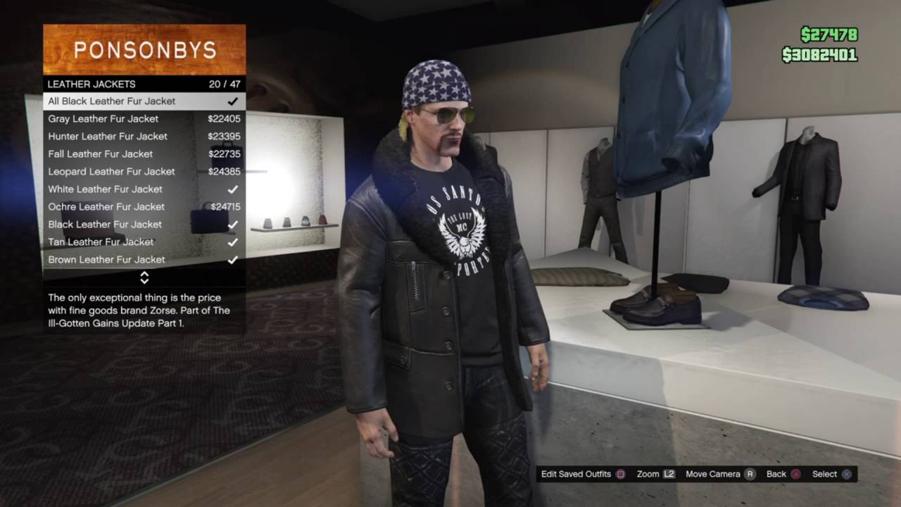 incredible gta online biker outfits