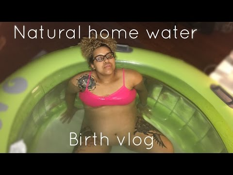 Natural Home Water Birth Vlog | Being Blanca