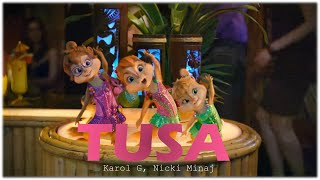 Baixar Tusa - KAROL G, Nicki Minaj | Chipmunks Version