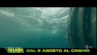 Pubblicita Shark   il primo squalo   trailer   Agosto 2018